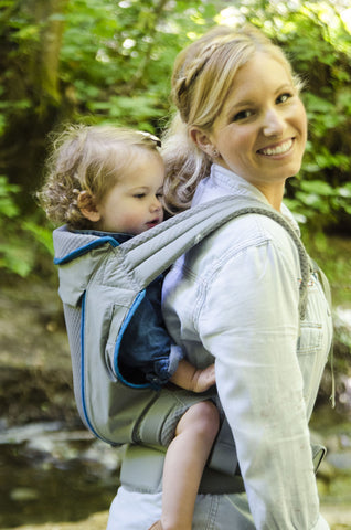 Pure - Our new lightweight and breathable carrier with a zip-up front panel.