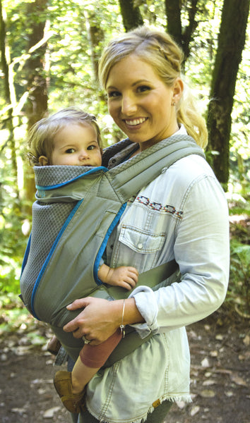 Onya Baby Carrier Pure Atoll Blue Granite