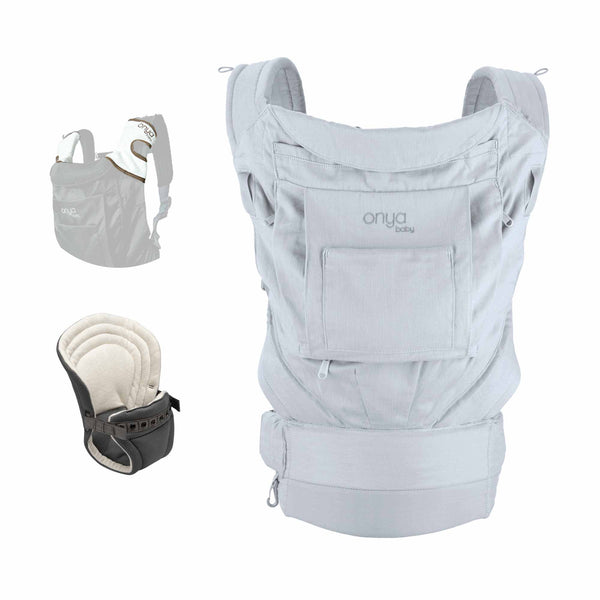 Onya Baby Infant to Toddler Bundle Cruiser Pearl Grey