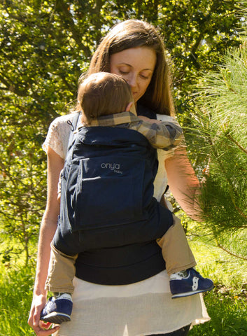 Onya Baby Carrier Cruiser Pearl Gray