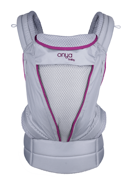 Pure - Our new lightweight and breathable carrier with a zip-up front panel. - OnyaBaby.com