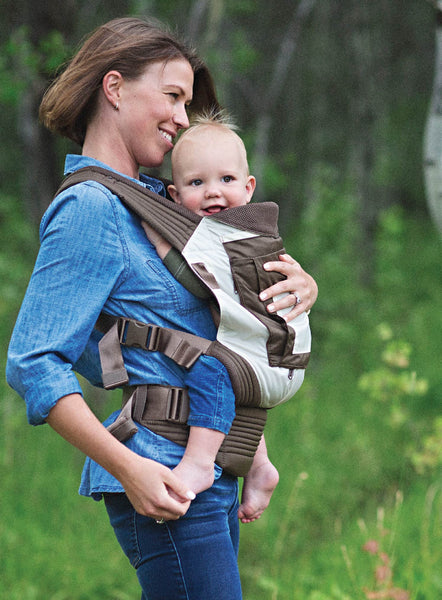 Onya Baby Carrier Outback Ivory Chocolate Chip