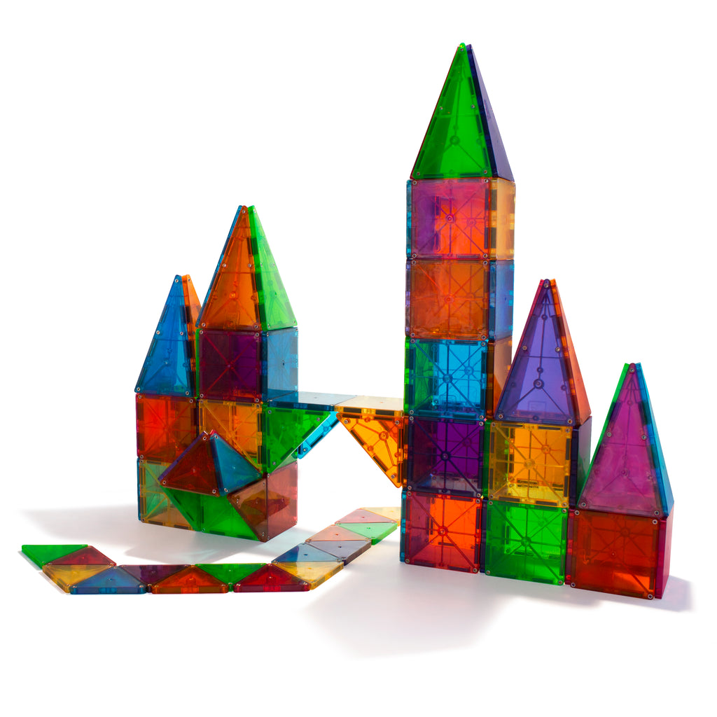 Magna-Tiles® Clear Colors 100-Piece Set (Free Shipping)