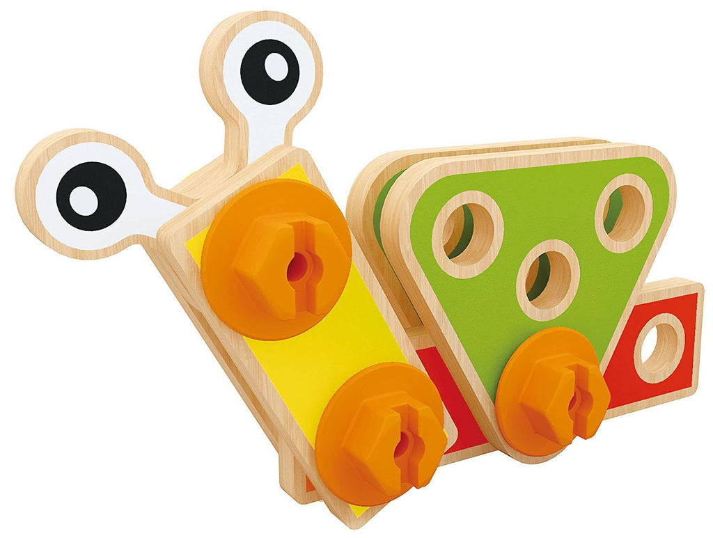 SALE - Wooden Nuts and Bolts Construction Builder Set
