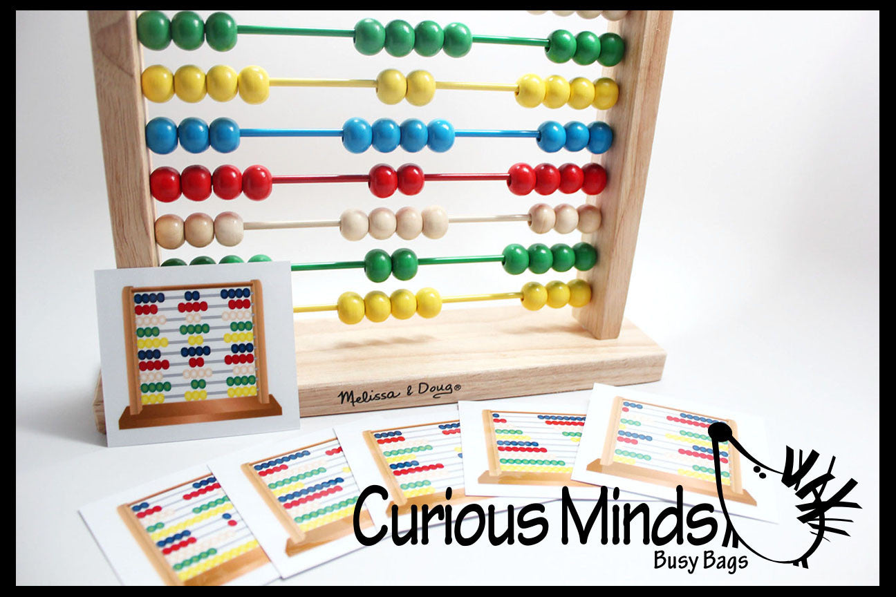 Wooden Melissa and Doug Abacus with Pattern Cards ...