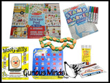 Travel Toy Bundle for Girls #2 - Magnetic or Portable Activities for Children for Car and Airplane Travel