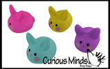 Cute Squishy Slow Rise Bunny -  Scented Sensory, Stress, Fidget Toy - Easter Rabbit