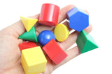 Geometric Solid Shapes Match with Matching Cards - Montessori 2 Part Card - Geometry Work