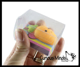 Small Easter / Spring Themed Mochi Squishy Animals - Kawaii -  Sensory, Stress, Fidget Party Favor Toy