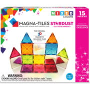 Magna-Tiles® Stardust 15-Piece Set (Free Shipping)
