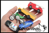 Transportation Vehicles to Matching Cards - Match Cars and Truck Miniatures to Photos