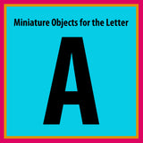 z ALPHABET OBJECTS BY LETTER A