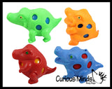Large Alligator Squishy Stress Ball - Mesh Doh Fun Fidget - Crocodile Gator - Blob Webby Mesh Ball - Squishy Fidget Ball