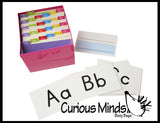Alphabet Object Pocket Chart Set - Language Teacher - Objects by Letter