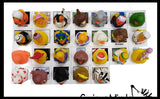 Matching Alphabet Ducks with Picture Cards - Rubber Duckies for Each Letter Of the Alphabet - Language Arts Objects - 2 Part Montessori learning toy- Objects Matching Game