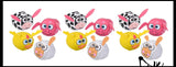 CLEARANCE SALE - Cute Farm Animal Kick Balls - Sack Footbag Game Balls
