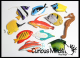 Miniature Tropical Fish Figurines