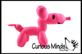 CLEARANCE - SALE - Plush Balloon Animal Shaped Stuffed Toy - Cute Novelty Toy
