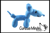 Plush Balloon Animal Shaped Stuffed Toy - Cute Novelty Toy