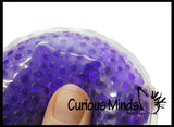 Water Bead Filled Disc Squeeze Stress Ball  -  Sensory, Stress, Fidget Toy