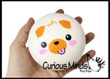 CLEARNANCE - SALE - Large Squishy Slow Rise Animal Face-  Sensory, Stress, Fidget Toy