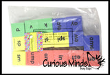 Word Family Dice - Blends, Digraphs, Consonants and ending sounds - Language Arts Teacher Supply