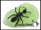 Bug Slime - Fun Slime with Insect Critter Figurine - Putty - Goo