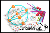 Building Geometric Shapes - Construction Set