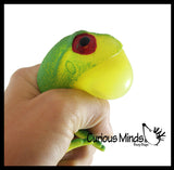 Bull Frog - Cute Squeeze Toy - Fun Fidget - Unique OT Hand Strength, Fine Motor