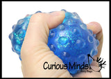 Bumpy Gel Filled Squeeze Stress Ball  -  Sensory, Fidget Toy