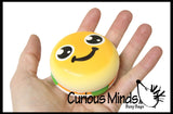 Burger and Fries Squishy Slow Rise -  Sensory, Stress, Fidget Toy
