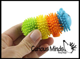 Cute Caterepillar Hedge Balls -  Wooly Porcupine Balls - Sensory Novelty Toy