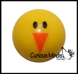 Cute Chick Bouncy Balls - Easter Egg Filler Prize