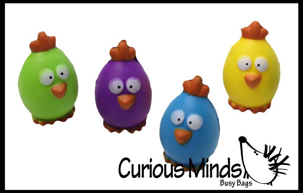 CLEARANCE SALE - Cute Egg Chick Stress Ball - Easter