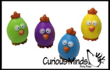 Cute Egg Chick Stress Ball - Easter