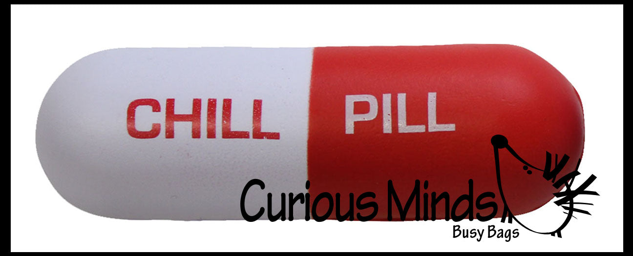 Chill Pill Stress Ball -  Sensory, Stress, Fidget Toy - Doctor Pharmacist