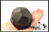 """Lump of Coal"" Stress Ball Toy - Funny Gag Toy for Office - Naughty not Nice Christmas Gift"