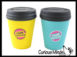 Coffee Cup Squishy Slow Rise Foam -  Scented Sensory, Stress, Fidget Toy Cafe