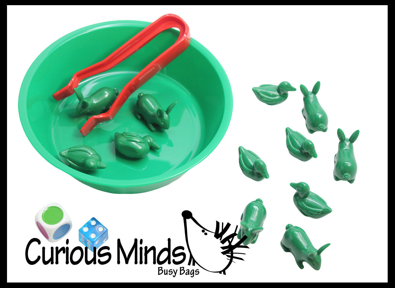 Preschool and Toddler Color Sorting Set with Sorting Bowls and ...
