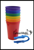Color Sorting Cups with Tong