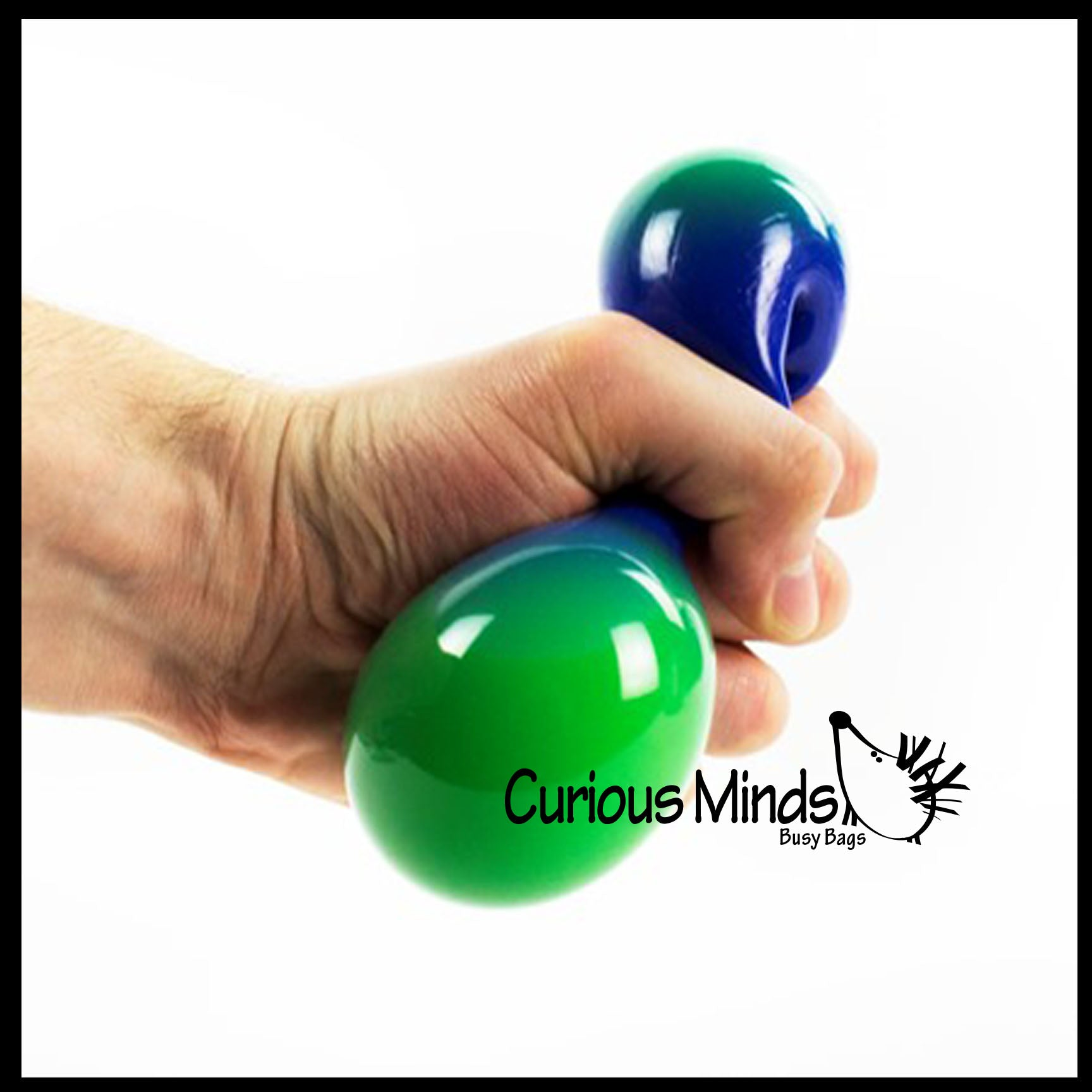 - Color Changing Squeeze Stress Ball - Sensory, Stress, Fidget Toy