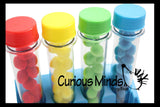 Test Tube Color Sorting Activity for Children