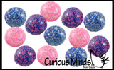 Confetti Bead Mold-able Stress Ball - Squishy Gooey Shape-able Squish Sensory Squeeze Balls