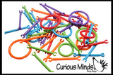CLEARANCE - SALE - Small Connectors Building Toy - Snap Together Sticks - Open Ended Building Toy
