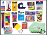 Craft Box with Supplies - Creative Gift for Kids - Art Box