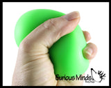 Sand Filled Stress Ball - Moldable Sensory, Stress, Squeeze Fidget Toy ADHD Special Needs Soothing