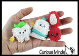 Cute Dental Hedge Figures -  Sensory, Stress, Fidget Party Favor Toy - Dentist Treasure Prize
