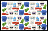 Cute Micro Dental Slow Rise Squishy Toys - Mini Teeth, Floss, Toothpaste, Toothbrushes - Memory Foam Party Favors, Prizes, Pediatric Dentist Orthodontist