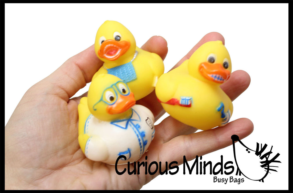 CLEARANCE SALE - Dentist Rubber Duckies - Dental Treasure Toys