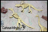 Dinosaur Dig #1 Excavation Sensory Bin Toy - Dino skeleton, fossil Game